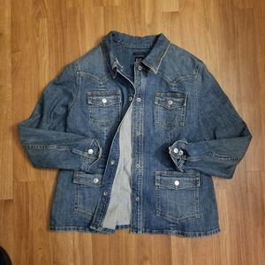 Gap Denim Jacket Size Large